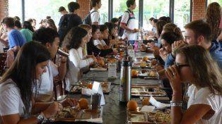 el comedor universitario celebra su decimo aniversario