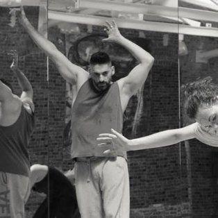 diego funes y un seminario de danza