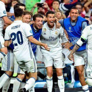 Implacable. Cristiano Ronaldo llegó a esta serie con una sequía de seis goles: se despachó con cinco.