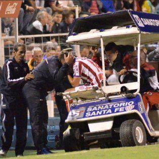 Banda izquierda. Bruno Pittón estará inactivo durante más de un mes por una luxación de hombro.
