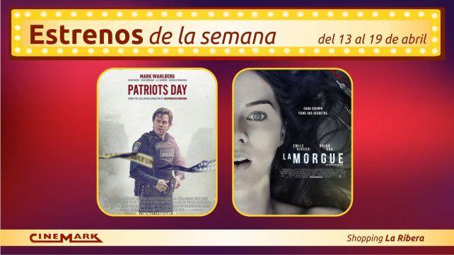 Los estrenos de la semana en Cinemark