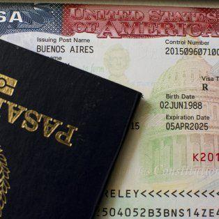 Ranking. Argentina se encuentra en el séptimo puesto a nivel mundial por la cantidad de visas a Estados Unidos tramitadas.