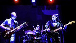 Emotivo. El del sábado será el último show del baterista Pablo Jaimet en Guazú