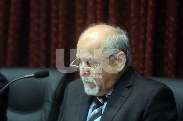 Como un arbitro. El juez Sánchez deberá definir si acepta o no el pedido de la defensa de Lerche.