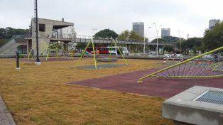 Plaza Alberdi: ultiman detalles para la inauguración de mañana