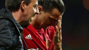 La escalofriante lesión de Zlatan Ibrahimovic