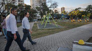 Esta tarde, José Corral inaugura la nueva Plaza Alberdi