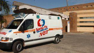 Tres chicos y una mujer hospitalizados tras un accidente en la Ruta 11