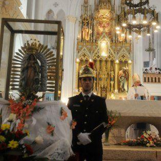 El domingo. A las 15.30 será la peregrinación presidida por el arzobispo José María Arancedo.