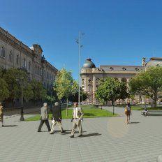 Lifschitz presentará el proyecto de puesta en valor de la plaza 25 de Mayo