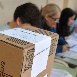 elecciones: les pagaran $1.200 a las autoridades de mesa