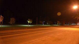 Iluminan calles y barrios de Sauce Viejo