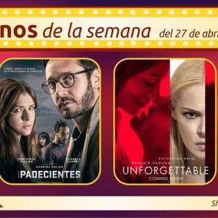 dos estrenos en las pantallas de cinemark