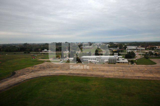 Desde el próximo lunes, el Aeropuerto de Sauce Viejo estará cerrado
