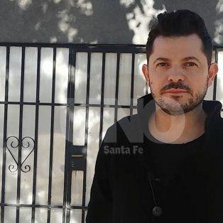 Marcos Castelló, cantante sanafesino de música melódica.