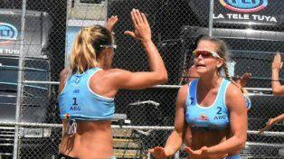 la dupla zonta-gallay fueron campeonas en venezuela