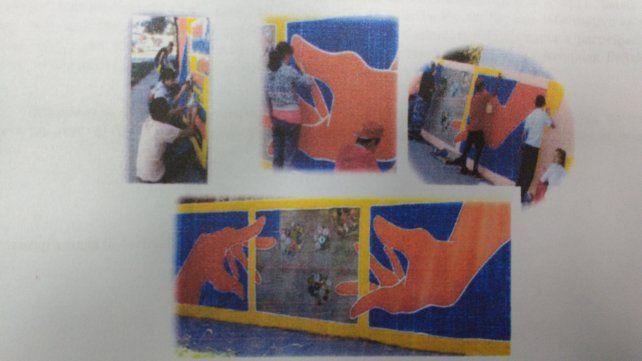Inaugurar n un mural de arte colectivo en gorriti y pe aloza for Arte colectivo mural