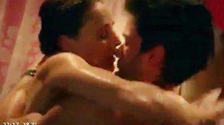 escena de alto voltaje y encuentro sexual entre eleonora wexler y mariano martinez