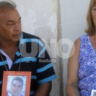 Piden justicia. Los padres del joven muerto son querellantes en la causa.