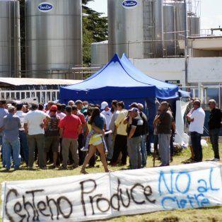 efecto sancor: esta noche atilra le pone fecha al paro nacional de los trabajadores de la lecheria