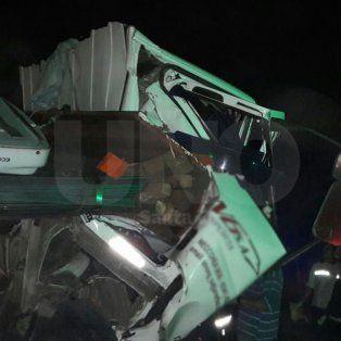 Un camionero chocó a otro desde atrás en la Circunvalación Oeste, fue rescatado pero falleció