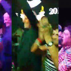 El baile de Vignatti en los festejos de Colón