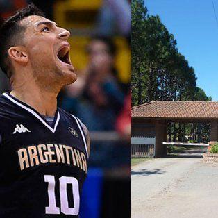 robaron la vivienda del basquetbolista carlos delfino en el country el paso