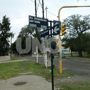 La zona. El aberrante suceso se dio en una garita ubicada a metros de la ciclovía.