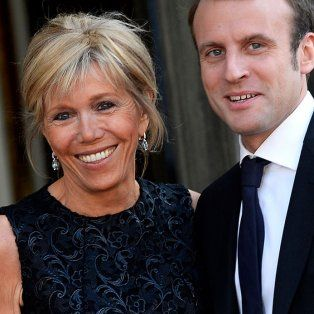 trogneux: la esposa del presidente de francia 20 anos mayor, con 3 hijos y 7 nietos
