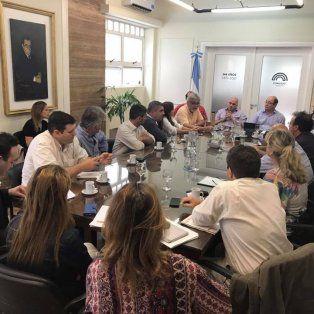 Encuentro. Fue en la sala Zapata Gollán del Concejo Municipal. Seguirán las reuniones