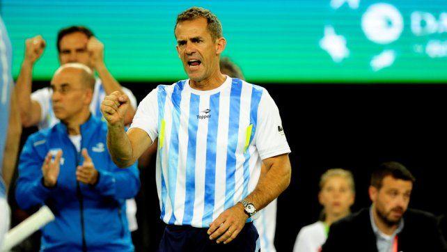 Orsanic anunciará su continuidad en el equipo argentino de Copa Davis