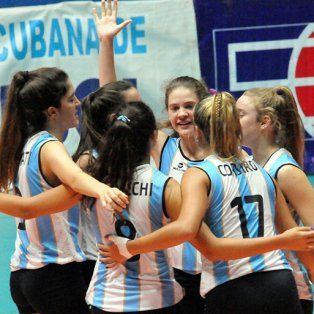 argentina ya tiene rivales para el mundial femenino sub 18 de voley