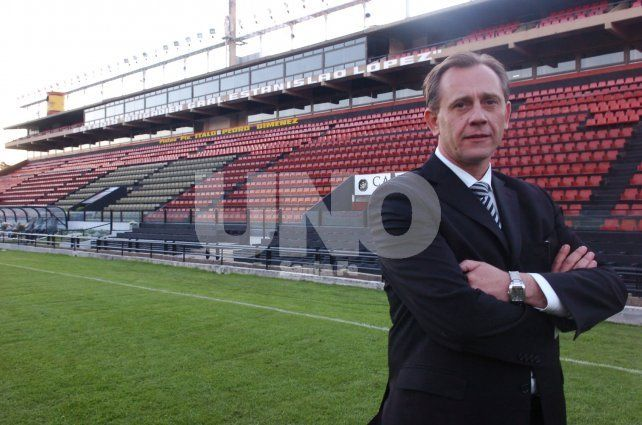 Como presidente. Lerche estuvo al frente de Colón desde 2006 hasta 2013.