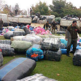 Secuestraron 15 millones de pesos de mercadería extranjera en Santa Fe