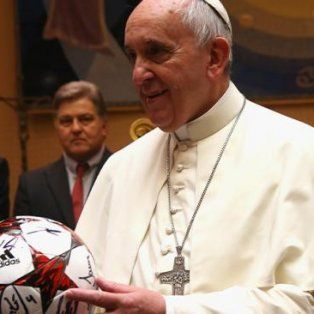 el papa francisco hablo de la violencia en el futbol