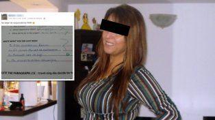 una profesora de ingles se burlo por facebook de una alumna