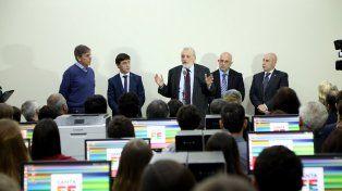 inauguraron el centro de digitalizacion del registro general de la propiedad