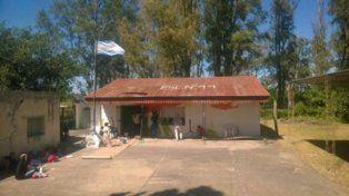 Escuela Nº44 República Argentina de Santa Anita, en la zona rural del departamento Uruguay.