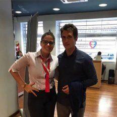 Sancionarán a la empleada que se burló de Barros Schelotto en una clínica