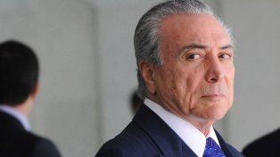 Temer: Mi compromiso es con Brasil, no renuncio