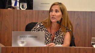 Concejal. Marcela Aeberhard (PJ).