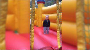 Así salta el nene más canchero del mundo