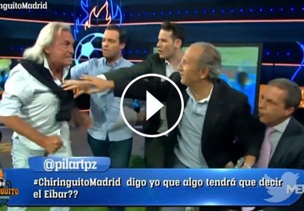 El Loco Gatti amenazó a un periodista español y casi lo agrede