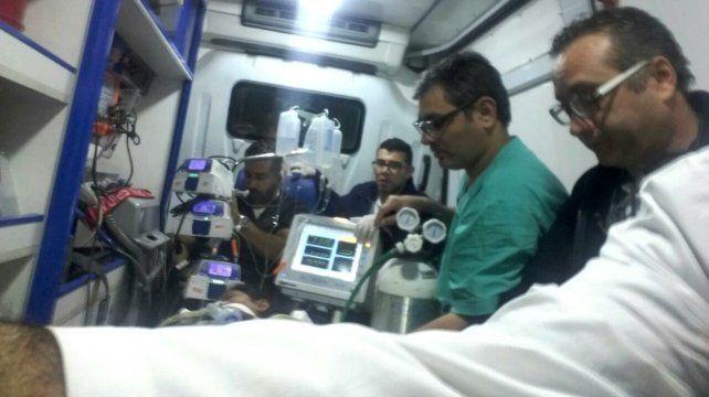 Se realizó un operativo inédito en el hospital Cullen para trasplantar el corazón a una paciente