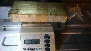 Un santafesino, detenido en Paraná con un kilogramo de cocaína