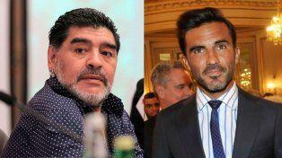 Maradona le ofreció a Cubero sumarse a su cuerpo técnico