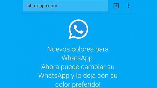 Una nueva estafa de WhatsApp