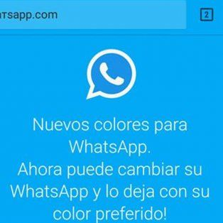 una nueva estafa de whatsapp