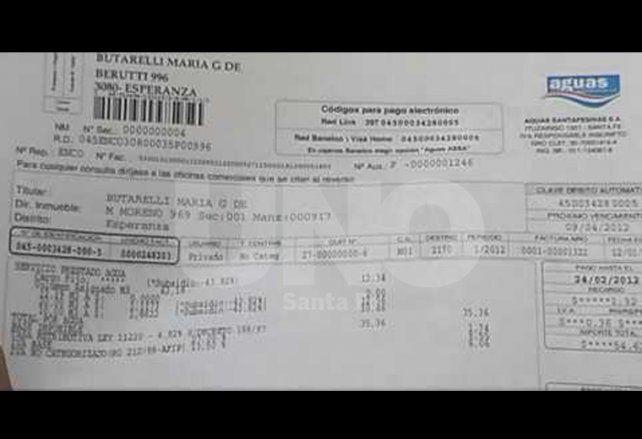 Solicitaron al gobierno revisar las excesivas tasas de interés por mora de Aguas Santafesinas