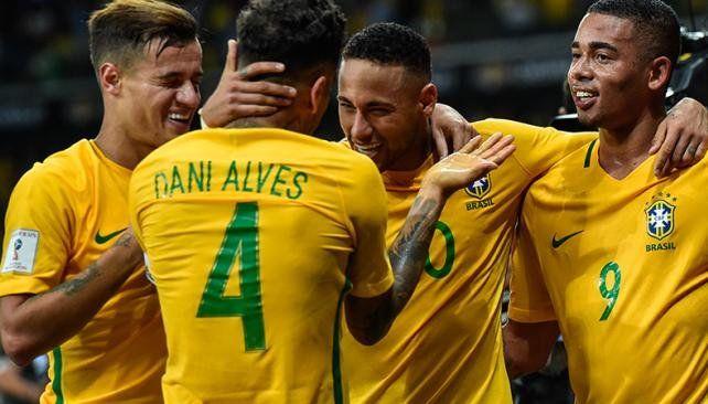 Brasil no tendrá a Neymar ni Dani Alves contra Argentina